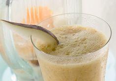 Shake de pera com iogurte e maracujá é pedida certa pro lanchinho