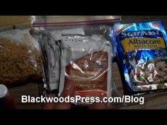 Hiking Food For Long Distance Backpacking - 5,000 Calories Per Day - Probably the best video on what foods to buy and how to pack them. Timothy packs each days food into its own gallon ziplock with complete breakfasts and dinners inside quart ziplock bags. Tip: Enclose 1/4 paper towel square with each meal along with all needed condiments (salt, pepper, mayo, mustard, taco sauce).