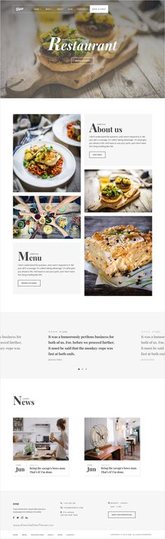 Dine is a unique and perfect #Bootstrap #theme for #cafes, restaurants and #coffee shops website with 2 unique homepage layouts Download now➩ https://themeforest.net/item/dine-a-unique-restaurant-template/18375030?ref=Datasata