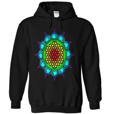 Flower of life Lotus, healing and energizing by nitty gritty T-Shirts, Hoodies. CHECK PRICE ==► https://www.sunfrog.com/Valentines/Flower-of-life--Lotus-healing--Black-Hoodie.html?41382
