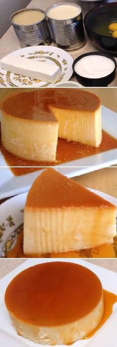 Three Health-friendly Bread Recipes - You Can Do at Home Flan Napolitano Recipe, Sweet Desserts, Sweet Recipes, Mexican Food Recipes, Dessert Recipes, Flan Recipe, Latin Food, Cupcake Cakes, Food To Make
