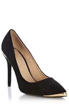 Absolutely adore these metal insert court shoes.  Perfect for parties!