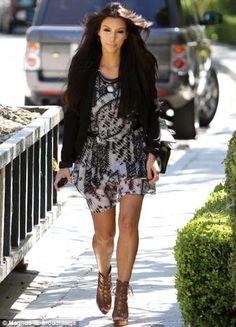Printed Dress – Kardashian