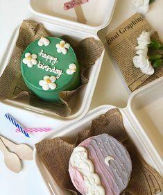 Bento Box Lunch, Bento Lunchbox, Home Bakery Business, Korean Cake, Ramadan Recipes, Just Cakes, Drip Cakes, Eat Dessert First, Box Cake