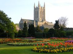 Bury St. Edmunds, Suffolk England-I was born 10 miles away from here! :)