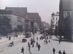 Breslau Schweidnizer Strasse 1906 - Straßenbahn Breslau –