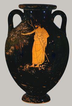 Attributed to the Berlin Painter: Amphora (56.171.38) | Heilbrunn Timeline of Art History | The Metropolitan Museum of Art