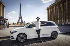 Ryan in Paris Mercedes-Benz