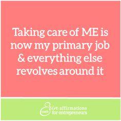 Affirmations for Self Employed Women Entrepreneurs from Coach Erin #ecoacherin #womenbusinessowners affirmations for women business owners http://www.ecoacherin.com/insights