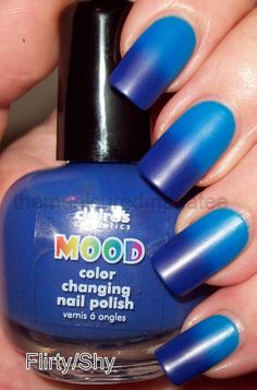 Interesting! Mood Nail Polish.