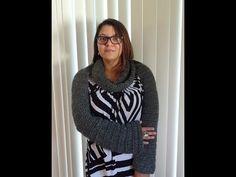 #Crochet Easy Long Sleeve Infinity Scarf Bolero #TUTORIAL - YouTube