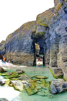 Playa de las Catedrales, Galicia, Spain, Galice, Espagne 28 | Flickr: Intercambio de fotos