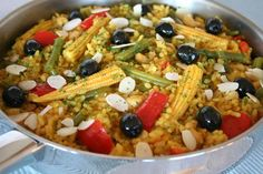 Spanish Veggie Paella | Vegan | GF