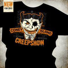 When all the vacationers go home the real fun begins at Coney Island. Haunted Attractions, Coney Island, Mens Tops, Fun, Hilarious