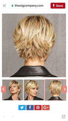 If I cut my hair again – # Short brown haircuts # Cuts … # hair Thin Hair Cuts, Short Thin Hair, Short Hair With Layers, Cut My Hair, Short Cuts, Short Hair Cuts For Women Over 50, Short Hair Over 50, Bob Cuts, Curly Short