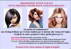 Promoziomne nuove Clineti Taglio Regalo - Centro estetico Roma - Dimensione Bellezza