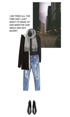 """""""fall city"""" by idka ❤ liked on Polyvore featuring Jil Sander and Zara"""