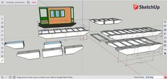 Structural Insulated Panels, Pontoons, Small Boats, Boat Plans, Sleepover, Beams, Things That Bounce, How To Plan, House