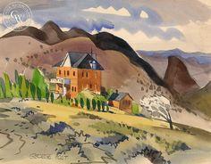 George Post (1906-1997) - St. Mary's Art Center, Virginia City