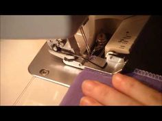 Mamahoch2: Video Verriegeln der Overlocknaht