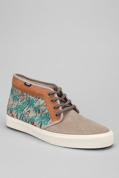 Vans CA Hula Print Chukka Boot #urbanoutfitters
