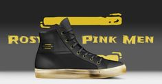 I've just made this fantastic shoes with AliveShoes! Check it out: Converse Chuck Taylor High, Converse High, High Top Sneakers, Chuck Taylors High Top, Men's Collection, High Tops, Pink, Check, Shoes