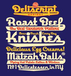 New York Jewish Deli designs! Jewish Humor, Jewish Food, Jewish Art, Lower East Side Nyc, Alphabet Soup, Jewish Recipes, Simple Pleasures, Make Me Happy, Roast