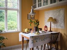 Magical Home, Kitchen Interior, Old Houses, House Tours, Villa, Dining Table, Ceiling Lights, Furniture, River Bank