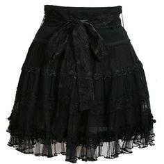 Very Pretty (Neema Skirt - UTTAM Direct found on Polyvore)