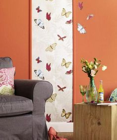cheap ideas for spring decor, butterflies decorations, birds images and floral designs