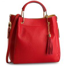 Kabelka CREOLE - K10509 Červená - Klasické - Kabelky   eobuv.sk Bags, Moschino, Products, Fashion, Templates, Designer Purses, Elegant, Accessories, Going Out