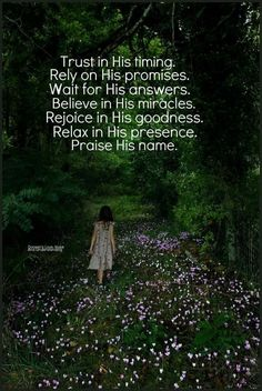In His Presence, Waiting For Him, My True Love, Christianity, Believe, Relax, Names, Good Things, Movie Posters
