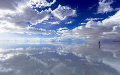 「すげぇ!」としか言えない!天空の鏡「ウユニ塩湖」を空撮したら Beautiful Sky, Beautiful World, Beautiful Places, Bolivia, Nature Water, Sky And Clouds, Great View, Landscape Photos, Background Images