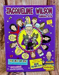 Jacqueline Wilson Annual 2016 Hardcover the a-z of jw exclusive secrets photos Jacqueline Wilson, Secret Photo, The Secret, Children, Kids, Books, Shop, Photos, Ebay