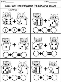 Math activities 77 pages common core pre k to grade printable grade worksheets for students Kindergarten Addition Worksheets, Kindergarten Math Activities, Kindergarten Math Worksheets, Preschool Activities, Math Games, Math For Kids, Math Centers, Middle School, Free Images
