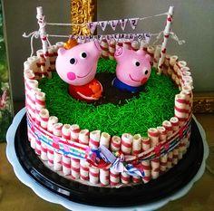 Deliciosa y linda torta de Peppa pig. S/.120.00