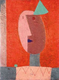 'Clown' by Paul Klee, 1929 (oil on canvas)