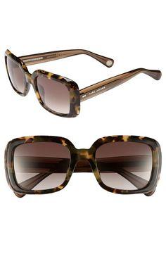 On the summer wishlist! Marc Jacobs tortoise frame sunglasses.