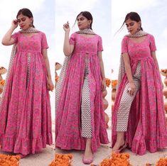 Party Wear Indian Dresses, Designer Party Wear Dresses, Kurti Designs Party Wear, Dress Indian Style, Designer Wear, Stylish Kurtis Design, Stylish Dress Designs, Designs For Dresses, Casual Indian Fashion