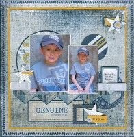 A Project by marilou64 from our Scrapbooking Gallery originally submitted 04/04/12 at 02:18 PM