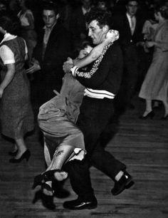 Rock & Roll night at the Royal Dance Hall, Tottenham, London, 1956