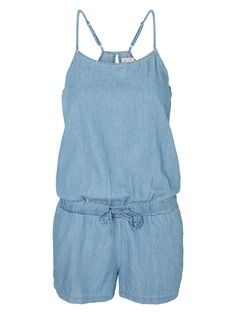 Denim playsuit from VERO MODA - all you need for summer.