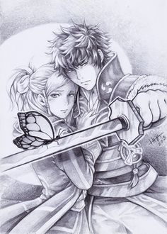 Pencil Commission: Fire Emblem by HlYA.deviantart.com on @deviantART