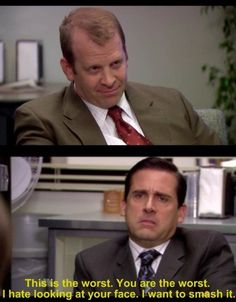 20 Times Michael Scott's Hatred For Toby Knew No Bounds