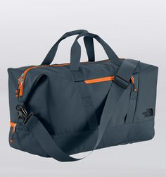 Rushfaster.com.au - The North Face Apex Gym Duffle - Ink Blue/Fremescent Orange