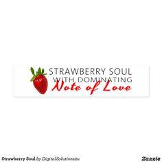 Strawberry Soul Napkin Band