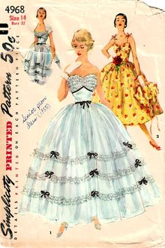 Floor-length vintage dress Easy Rider
