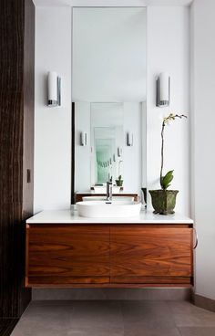 toronto 60 vanity single with d wall sconces bathroom contemporary and gray ceramic floor tile