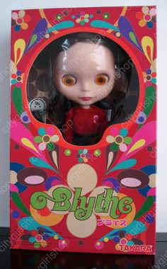 * WOW! RARE ROSIE RED MATTE FACE BLYTHE BL-3 * NRFB * FREE SHIP * US SELLER *