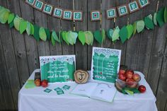 The Giving Tree baby shower decorations by onecraftyfoxx on Etsy